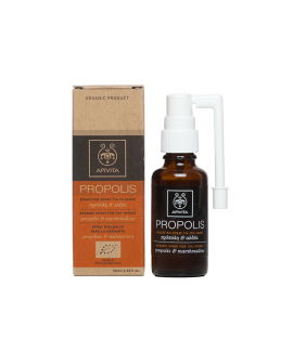 Apivita PROPOLIS SPRAY ΓΙΑ ΛΑΙΜΟ 30ML