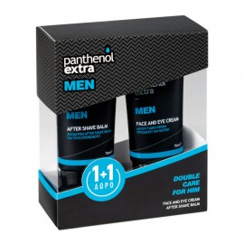 Medisei Set Panthenol Extra Men Face & Eye Cream 75ml + Δώρο Panthenol Extra Men After Shave Balm 75ml