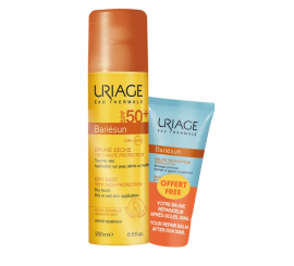 Uriage Set Bariesun Dry Mist SPF 50+ 200ml + Δώρο After-Sun Repair Balm 50ml