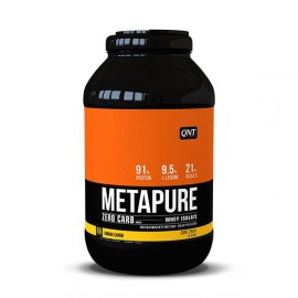 QNT Metapure Zero Carb Whey Isolate Protein Powder Banana 2kg