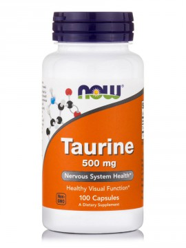 Now Foods Taurine 1000mg 100 Veg.Caps.