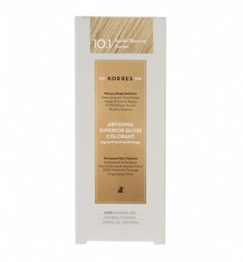 KORRES Abyssinia Superior Gloss Colorant 10.1 Ξανθό Πλατίνας Σαντρέ 50ml