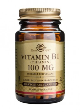 SOLGAR B1 100MG VEGETABLE 100CAP