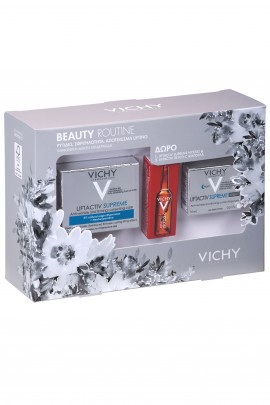 Vichy Set Liftactiv Supreme Normal 50ml + Δώρο Liftactiv Supreme Night 15ml + Δώρο Liftactiv Glyco-c 2ml