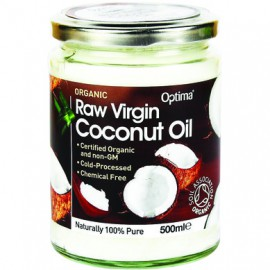 Optima Organic Raw Virgin Coconut Oil 500gr