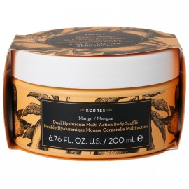 Korres Dual Hyaluronic Multi-Action Body Souffle Mango 200ml
