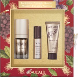 Caudalie Set La Solution Anti-Age Absolue Premier Cru la Creme Yeux 15ml + Δώρο Premier Cru Le Serum 10ml + Premier Cru La Creme 15ml