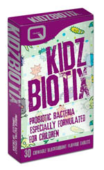 QUEST KIDZBIOTIX providing 2 billion probiotic bacteria 30CHEW TABS