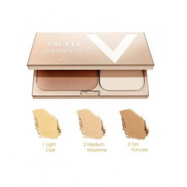 VICHY Teint Ideal Illuminating Foundation Compact Powder No3 (Tan) 9,5gr