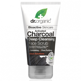 Dr.Organic Activated Charcoal Deep Cleansing Face Scrub 125ml