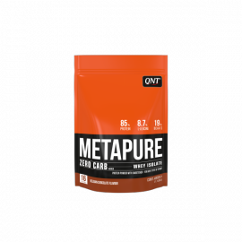 QNT Metapure Zero Carb Whey Isolate Protein Powder Belgian Chocolate 480gr