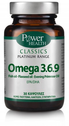 POWER HEALTH Omega 3.6.9 30CAPS