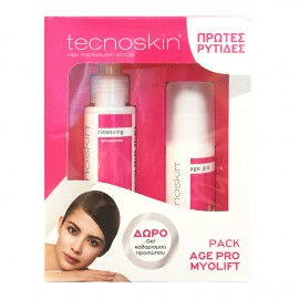 Tecnoskin Set Myolift 7 No Wrinkles Cream 24H 50ml + Δώρο Antioxidant Sensitive Cleansing Gel 100ml