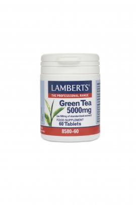 LAMBERTS GREEN TEA 5000MG 60TABS