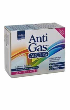 INTERMED ANTIGAS ADULTS 20STICKS