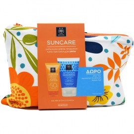 Apivita Set Suncare Anti Spot Face Cream SPF50 50ml + Δώρο After Sun Cooling Cream-Gel με Σύκο & Αλόη 100ml