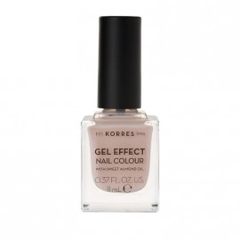 Korres Βερνίκι Νυχιών Gel Effect Nail Colour No31 Sandy Nude 11ml