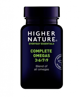 Higher Nature Complete Omegas 3:6:7:9 30 caps