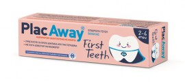 OMEGA PHARMA Plac Away First Teeth Οδοντόκρεμα 50ml