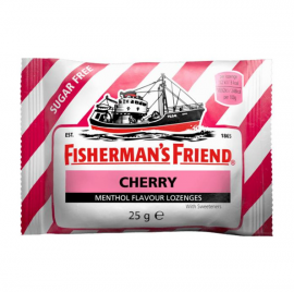 Fishermans Friend Καραμέλες Cherry Sugar free 25gr