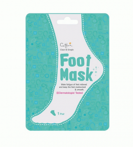 Vican Cettua Clean & Simple Foot Mask 1 ζευγάρι