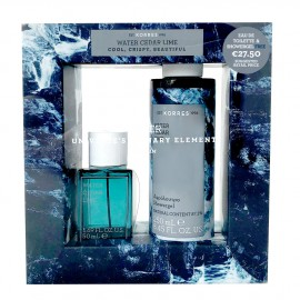 Korres Set Water Cedar Lime Eau de Toilette 50ml & Korres Αφρόλουτρο Water Cedar Lime 250ml