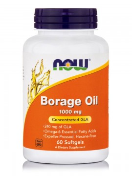 Now Foods Borage Oil 1050mg 60 Softgels