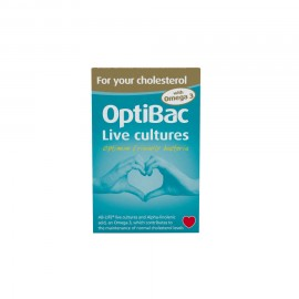 Optibac Probiotics for your Cholesterol 30+30caps