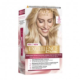 LOreal Excellence Creme 9 Ξανθό Πολύ Ανοιχτό 48ml