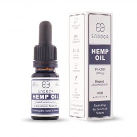 Endoca Hemp oil 3% CBD 10ml