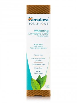 Himalaya Whitening Complete Care Toothpaste  Simply Mint 5.29oz 150gr