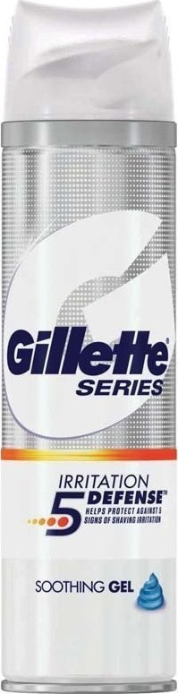 Gillette Series Irritation 5 Defense Soothing Gel Τζελ Ξυρίσματος 200ml
