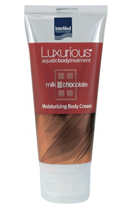 INTERMED Luxurious Moisturizing Body Cream Chocolate 200ml