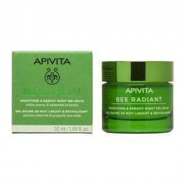 Apivita Bee Radiant Peony & Patented Propolis Night Gel-Balm Gel-Balm 50ml