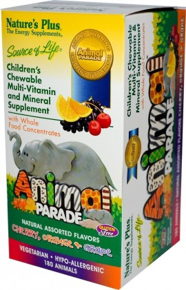 Natures Plus AP ASSORTED CHEWABLE 180