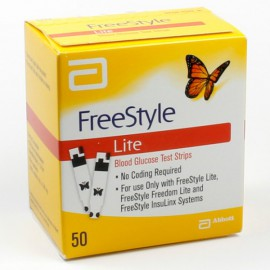 FREESTYLE LITE 50 TEST STRIPS