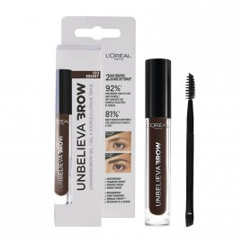 LOreal Paris Unbelieva Longwear Brow Gel 109 Ebony 3.4ml