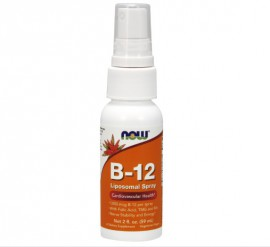 Now Foods Vitamin B-12 Liposomal Spray 59ml