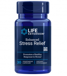 Life Extension Natural Stress Relief 30caps