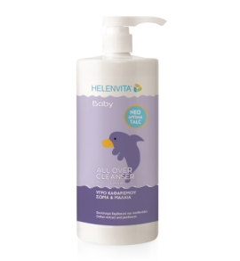 Helenvita Baby All Over Cleanser με Άρωμα Talc 1lt