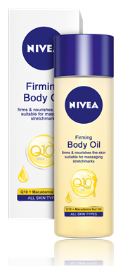 NIVEA Q10 PLUS FIRMING Body Oil 200ml