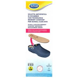 Scholl Clog Evo Memory Cushion Antistatic Πάτος Νο. 39-40
