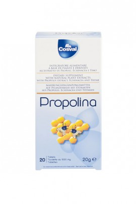 COSVAL PROPOLINA 20TABS