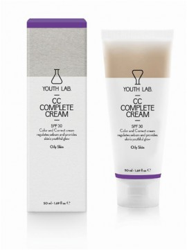 Youth Lab. CC Complete Cream SPF30 Oily Skin 50ml