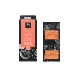 Apivita Express Beauty New Face Scrub Apricot 2x8ml