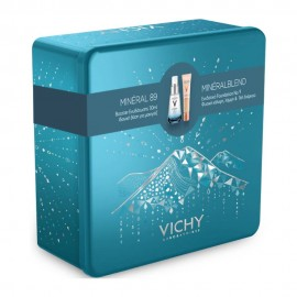 Vichy Promo Box Mineral 89 Booster Ενυδάτωσης 30ml + Vichy Mineral Blend Make-Up Fluid 09 Agate 30ml