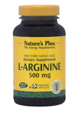 NATURES PLUS L-Arginine 500mg 90vcaps