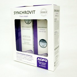 SYNCHROLINE Synchrovit Face Cream 50ml + Δώρο Synchrovit Eyes & Lips 15ml