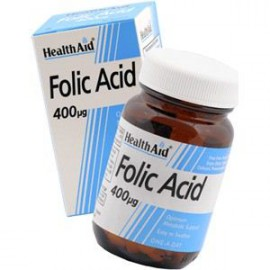 HEALTH AID FOLIC ACID 400ug TABLETS 90s