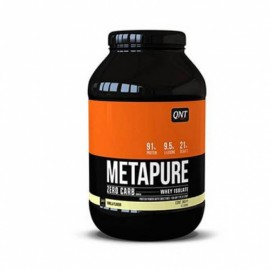 QNT Metapure Zero Carb Whey Isolate Protein Powder Vanilla 908gr
